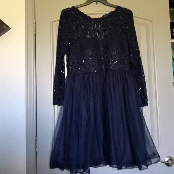 Juniors plus size homecoming dress